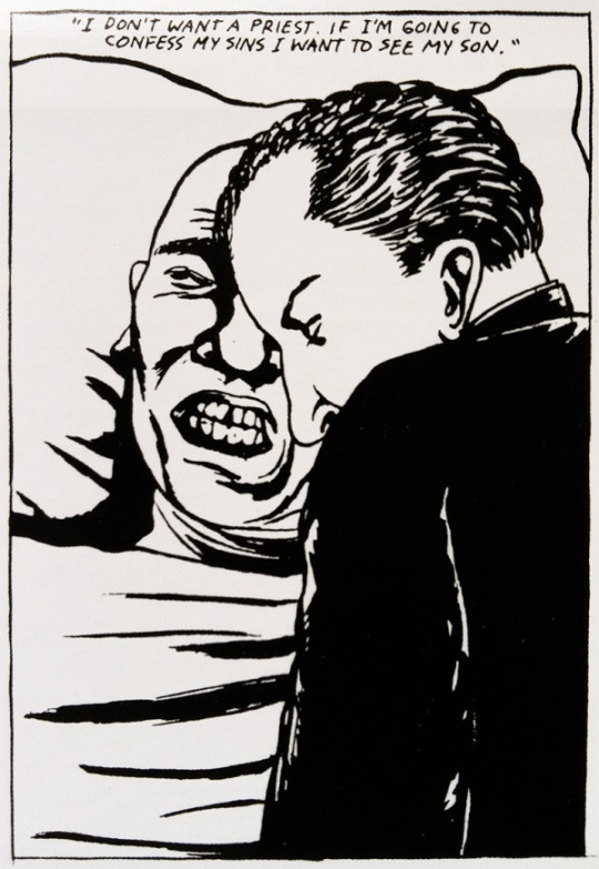 Ray Pettibon para  'Double Nickels on the Dime' de Minutemen, 1984