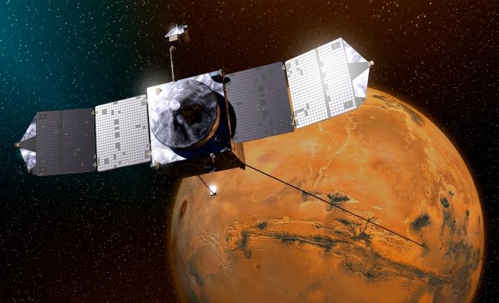 La misión de Maven se extenderá hasta finales del 2016