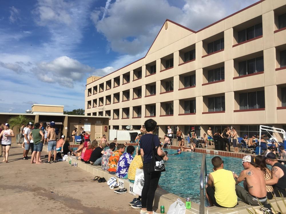 Pool Party en Holiday In
