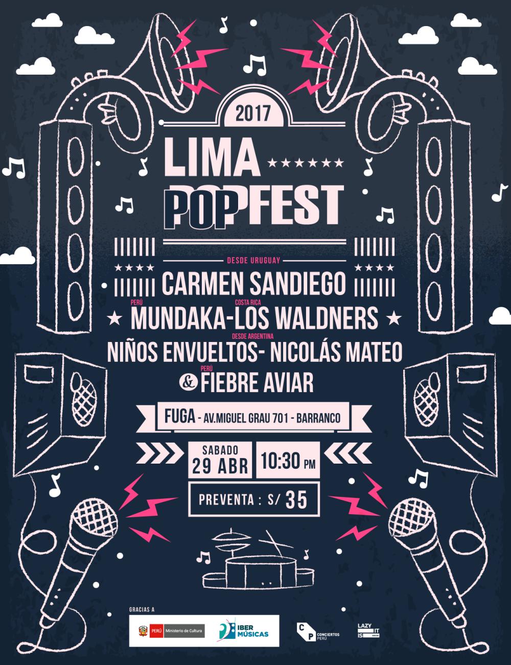 Cartel Lima Popfest (1)